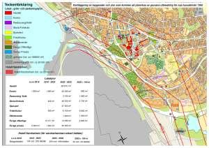 Prognos över lokalytor som kommer att påverkas. Källa: http://www.kommun.kiruna.se/Stadsomvandlingen/Markdeformationer/Byggnader-och-ytor-som-paverkas/