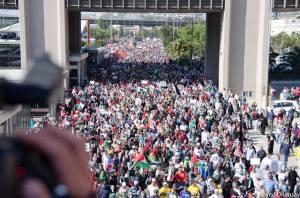 Massprotester mot Israel utlysta av arbetarrörelsen i Sydafrika