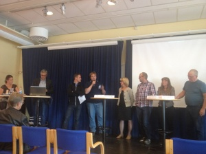 Bostadsdebatt på Folkets Hus i Kiruna