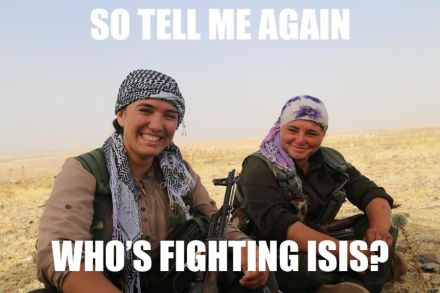 Bild So tell me again Who is fighting ISIS