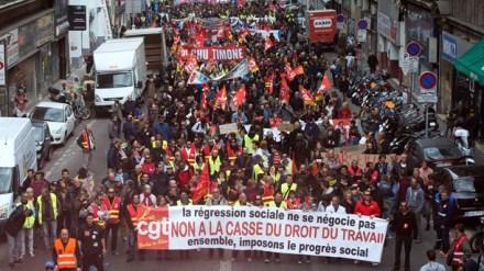 protest frankrike